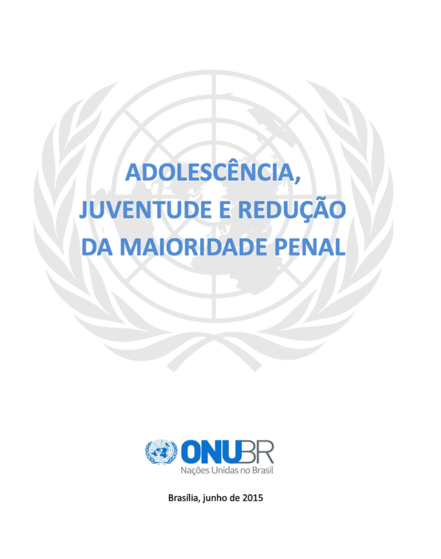 Adolescencia Juventude e Reducao da Maioridade Penal