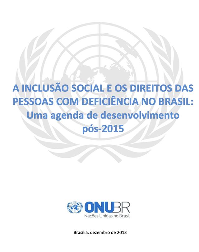 Inclusao Social E Os Direitos Das Pessoas Con Deficiencia no Brasil