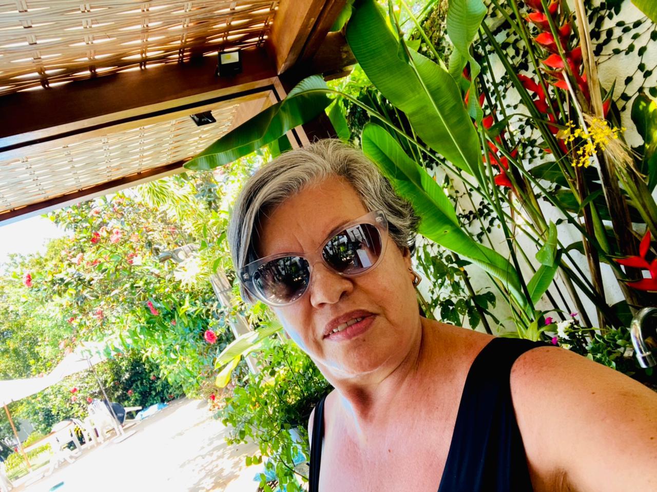 Cristina Montenegro, funcionária aposentada do PNUMA