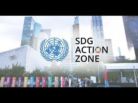 'Zona de Ação ODS' da Assembleia Geral da ONU: impulso aos objetivos globais!