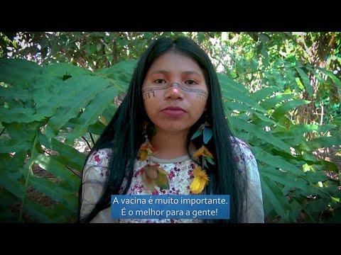 Prevenção e vacinação a COVID-19 para a comunidade Ticuna de Umariaçu II